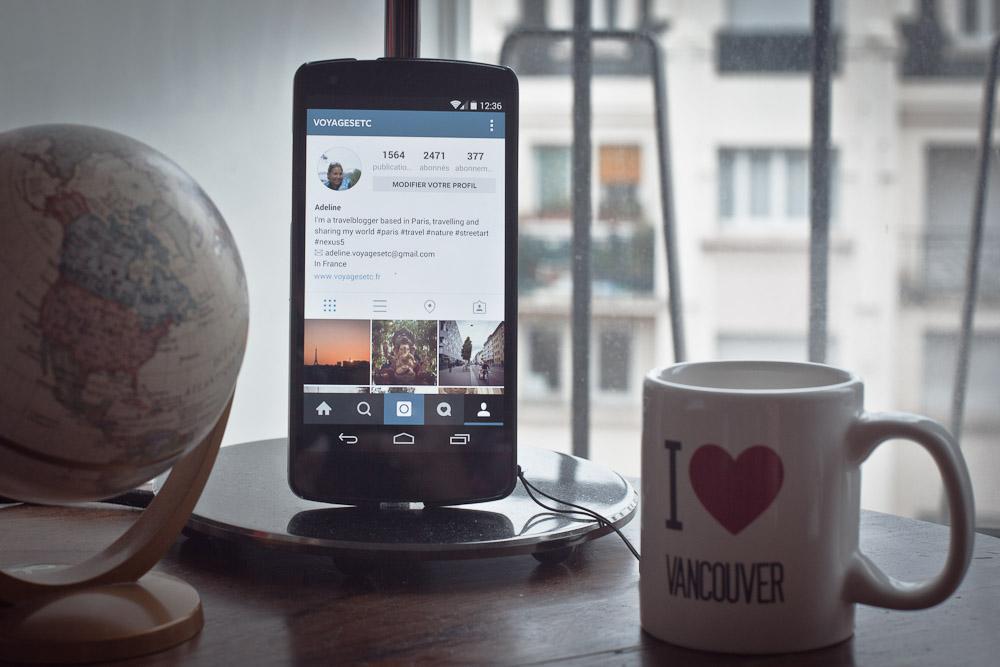 Blogs voyage sur instagram