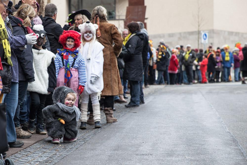 Carnaval en allemagne - Schramberg Bawu - Petit lapin