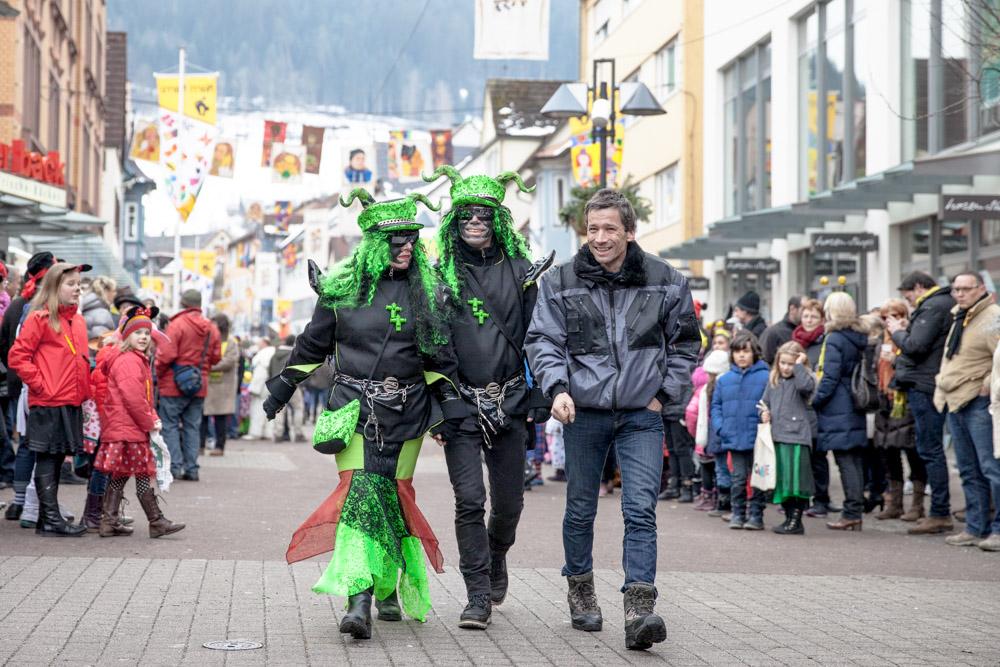 Carnaval en allemagne - Schramberg Bawu - ambiance