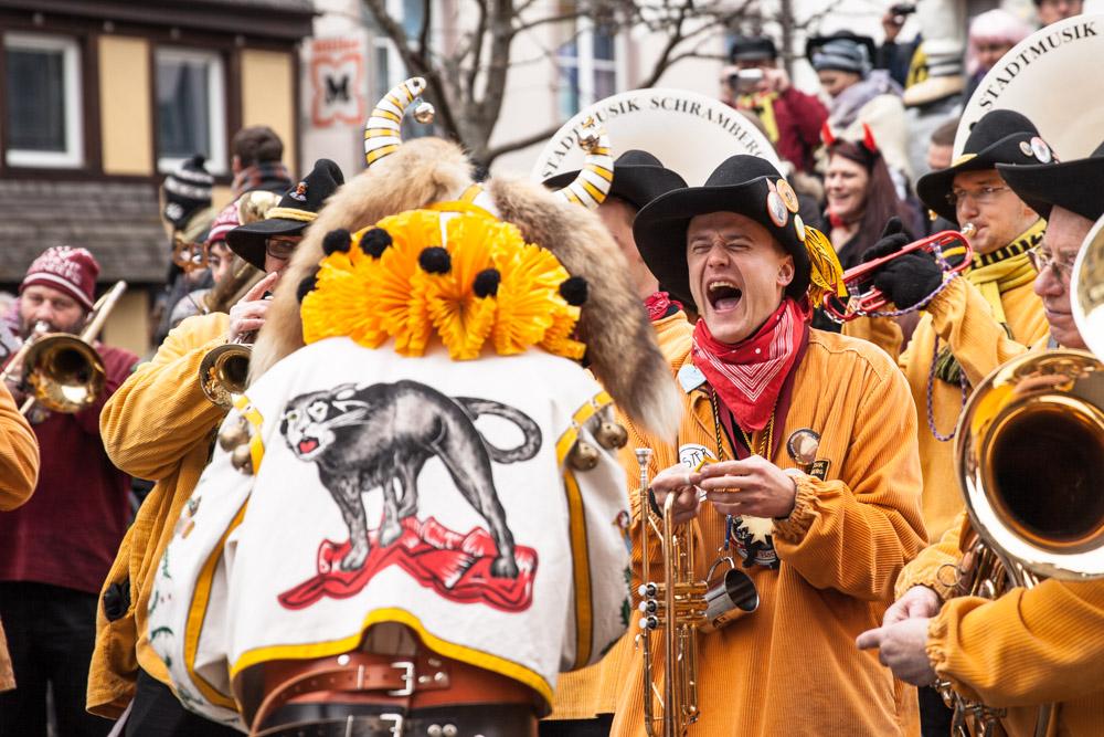 Carnaval en allemagne - Schramberg Bawu - hoorig