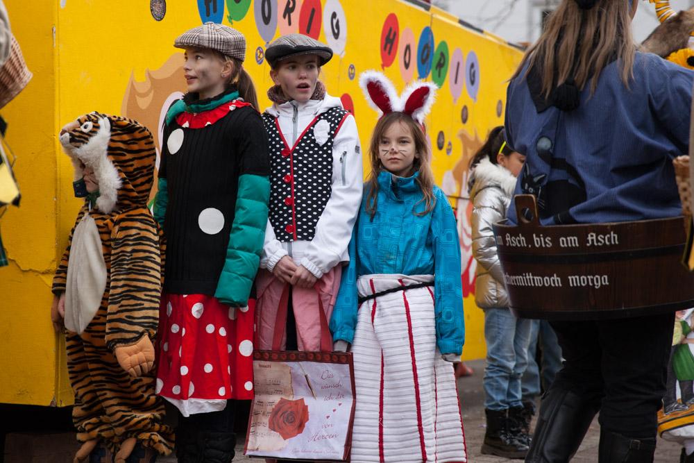 Carnaval en allemagne - Schramberg Bawu - les enfants