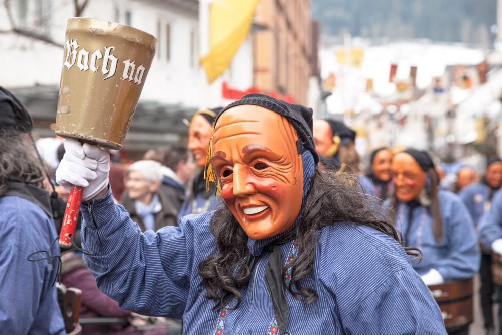 Carnaval en allemagne - Schramberg Bawu - parade da bach 72 na