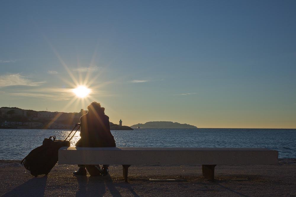 Marseille - sur la jetée du Mucem