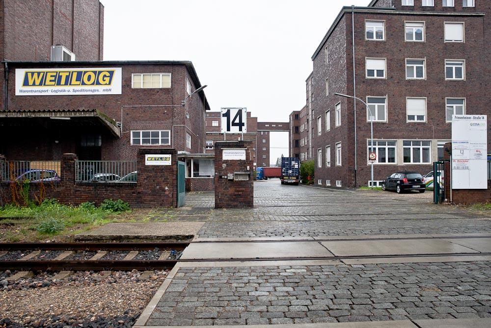 Mannheim - Batiment industriel