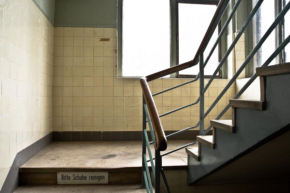 Mannheim - Les escaliers du vieux moulin