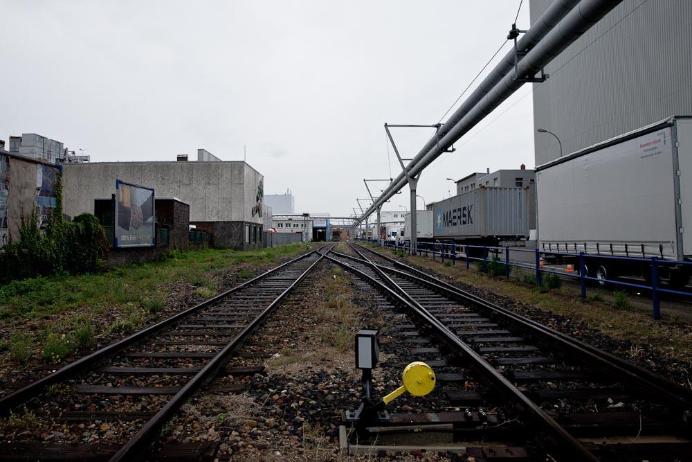 Mannheim - les rails