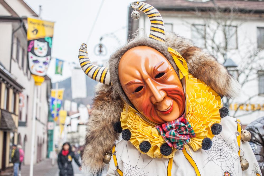 carnaval traditionnel en allemagne - schramberg