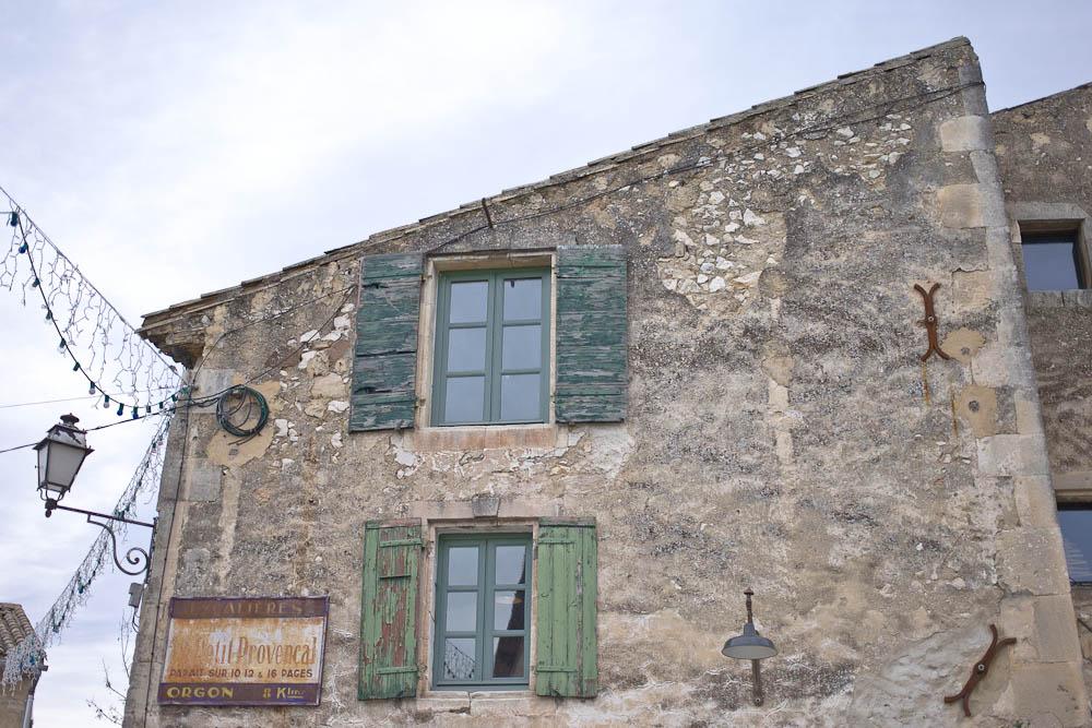 Vue sur la provence Fenetres Eygaliere
