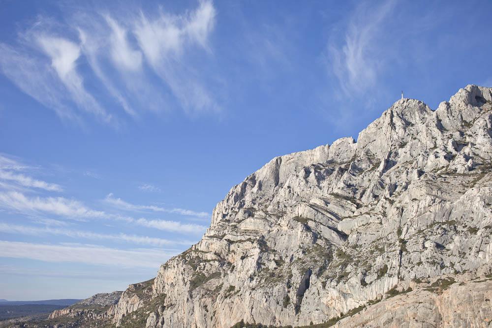 Vue sur la provence - Montagne sainte victoire 2