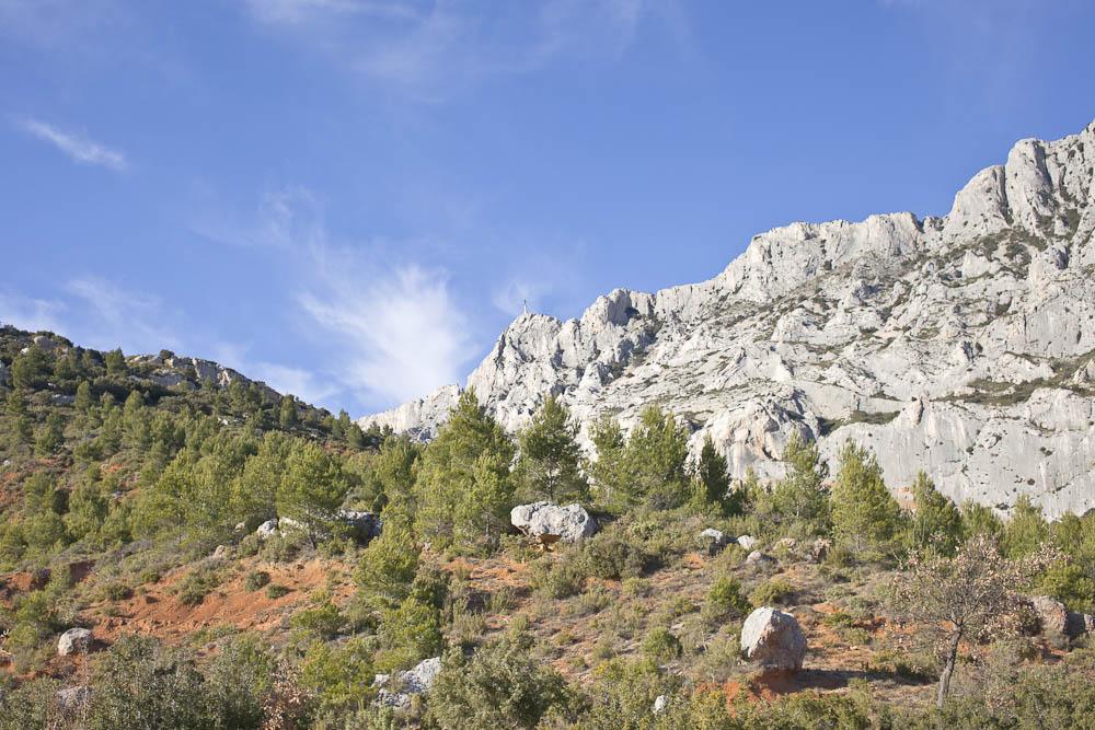 Vue sur la provence - Montagne sainte victoire