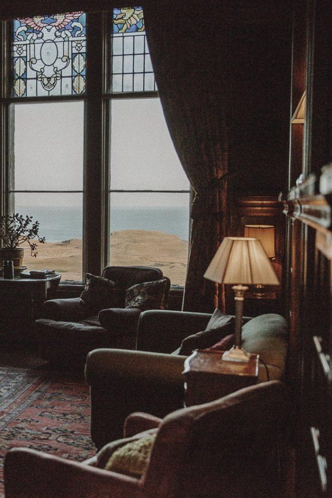 Bibliothèque du chateau de Glengorm sur l'île de Mull en Ecosse #ecosse #roadtrip