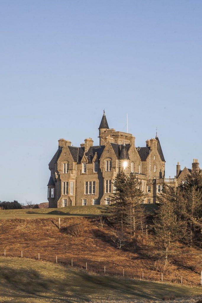 Le chateau de Glengorm sur l'Ile de Mull #chateau #ecosse #mull #roadtrip
