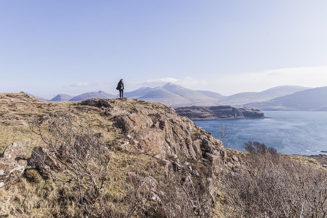 Dans les paysages infinis des highlands en ecosse #ecosse #highland #roadtrip