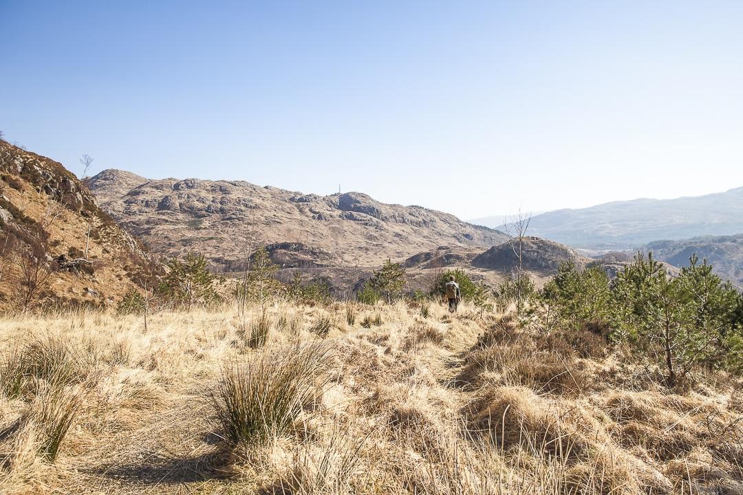 Randonnée jusqu'au viaduc de Glenfinnan #ecosse #roadtrip #randonnee
