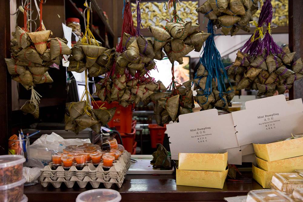 Les dumplings, un autre met incontournable dans la cuisine à Singapour