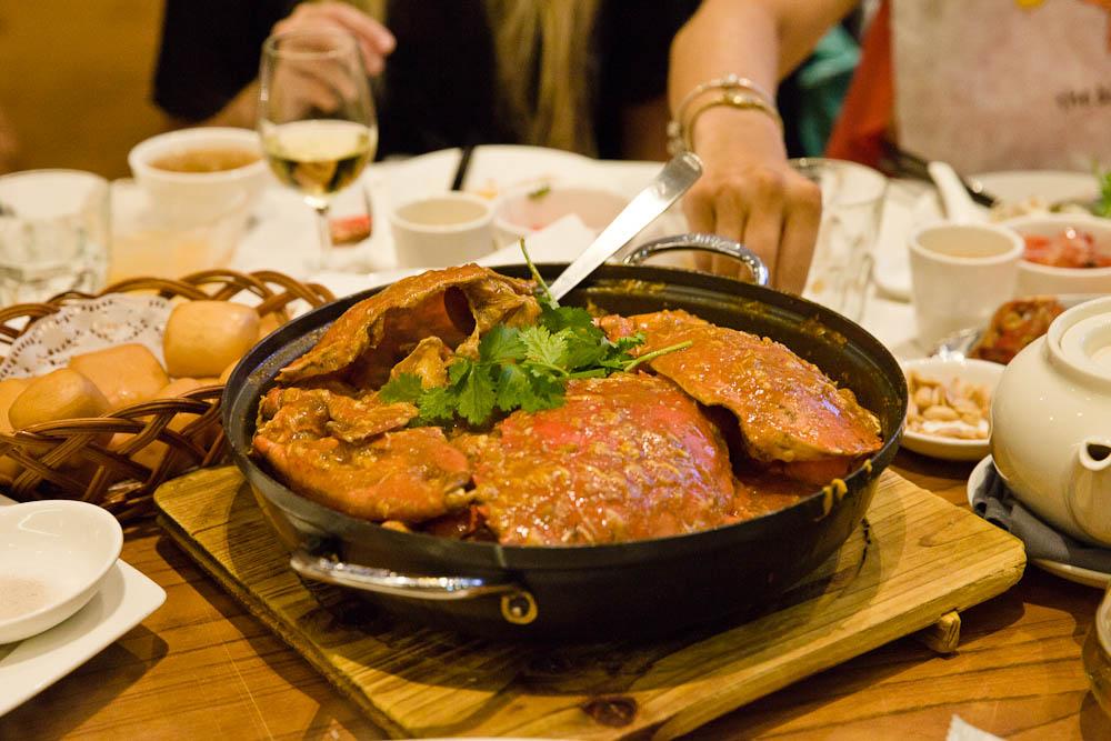 Que faire à Singapour ? le chili crabe fait partie des plats traditionnels à déguster à Singapour