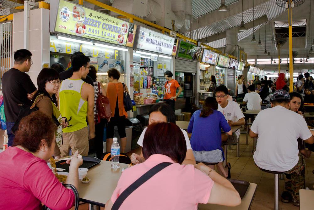 Que faire à Singapour ? Une expérience incontournable : Manger dans un Hawker center