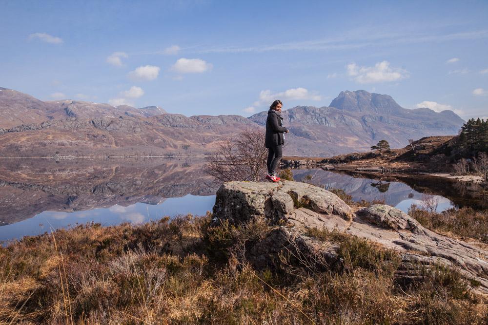 les jolis reflets du Loch Maree Ecosse