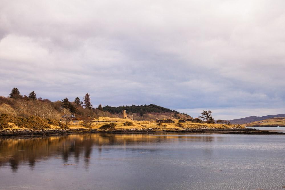 chateau de Dunvegan - ile de skye ecosse