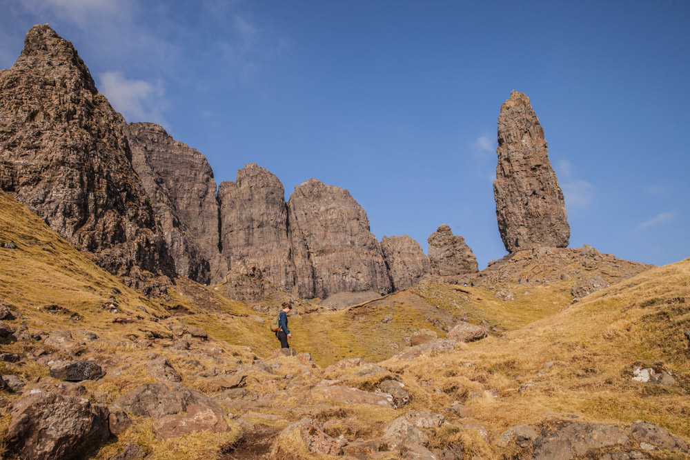 The old man of Storr - Ecosse