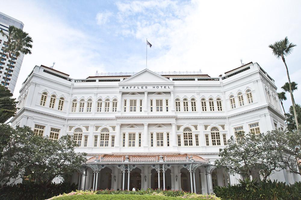 Où dormir à Singapour ? Au Mythique Raffles hotel