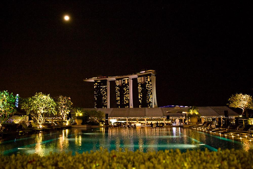 Où boire un verre à Singapour ? The Lanterne - Fullerton bay hotel