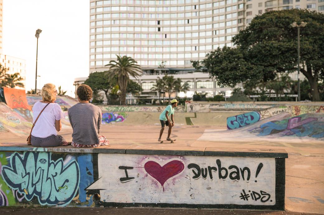 Skatepark Durban - afrique du sud
