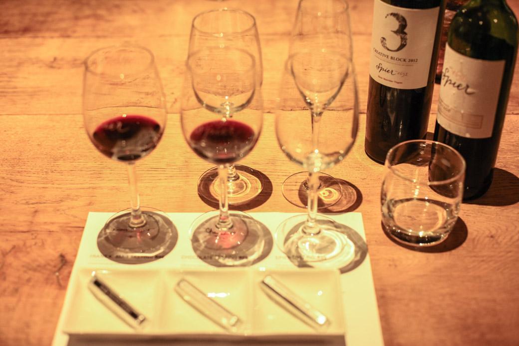 degustation des vins dans la region de stellenbosch afrique du sud