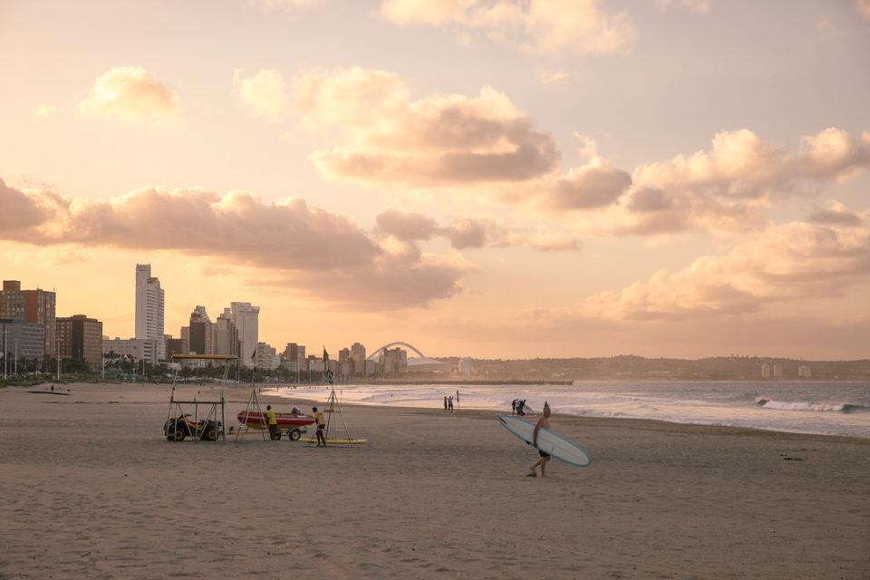 Durban Afrique du Sud - Direction la mer