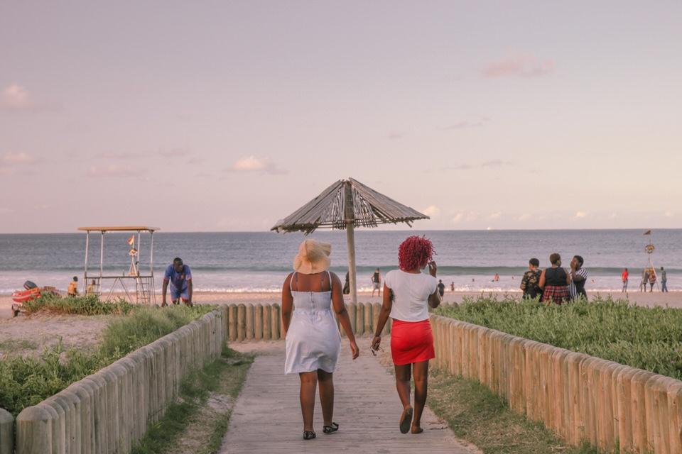 Durban Afrique du Sud - Direction la plage