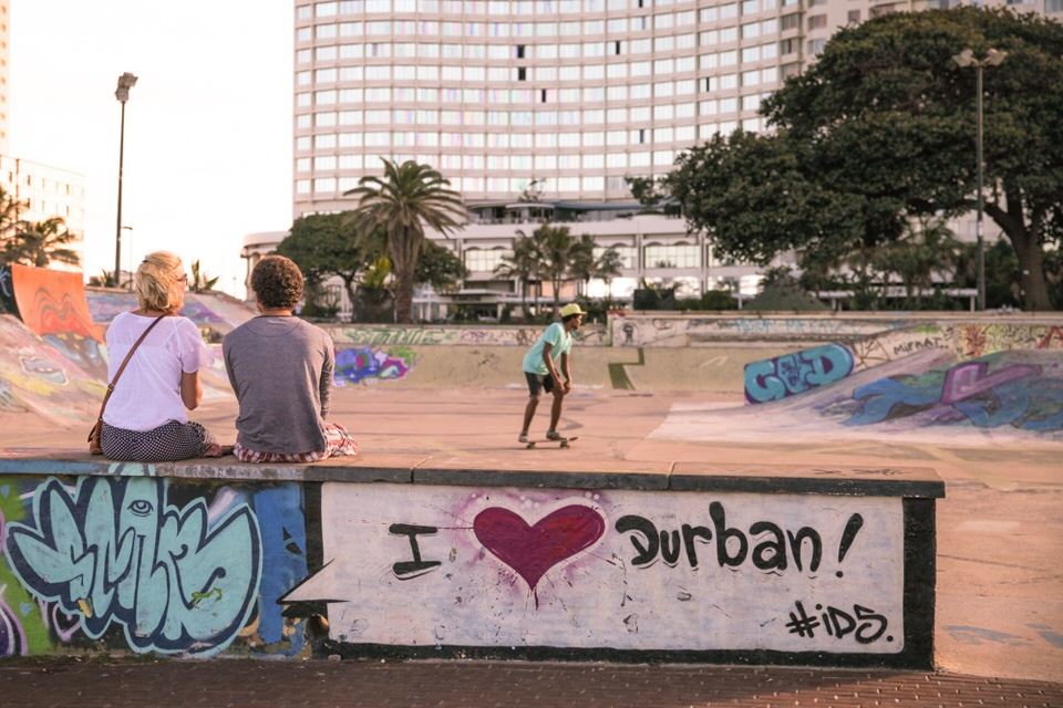 Durban Afrique du Sud - I love Durban
