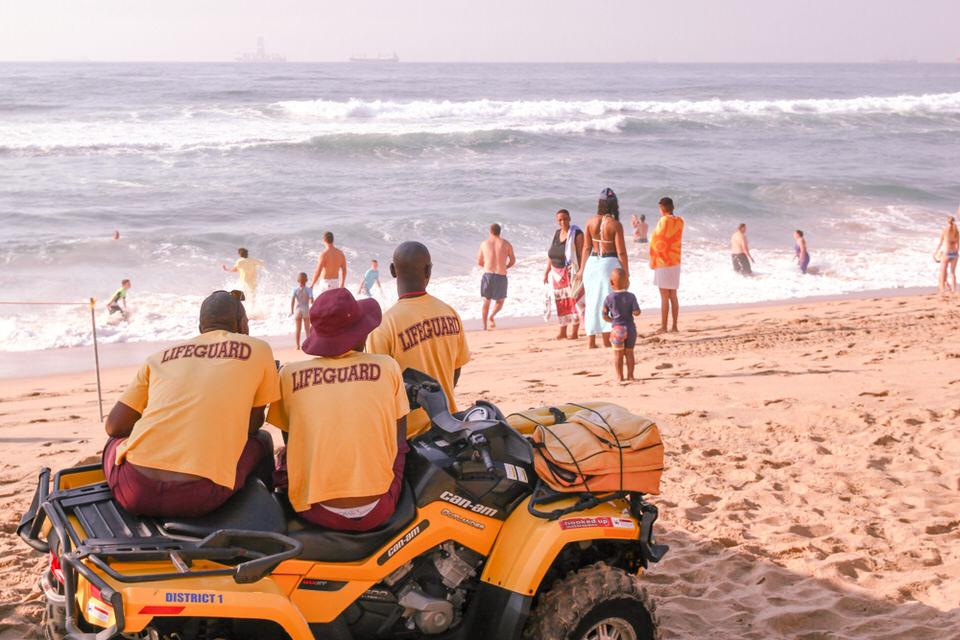 Durban Afrique du Sud - Lifeguards