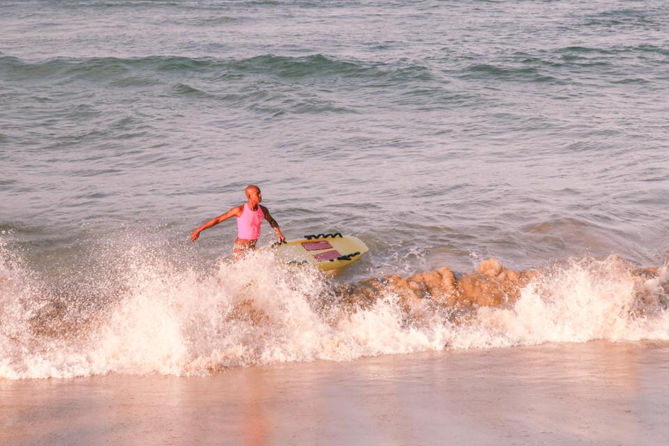 Durban Afrique du Sud - Surfer