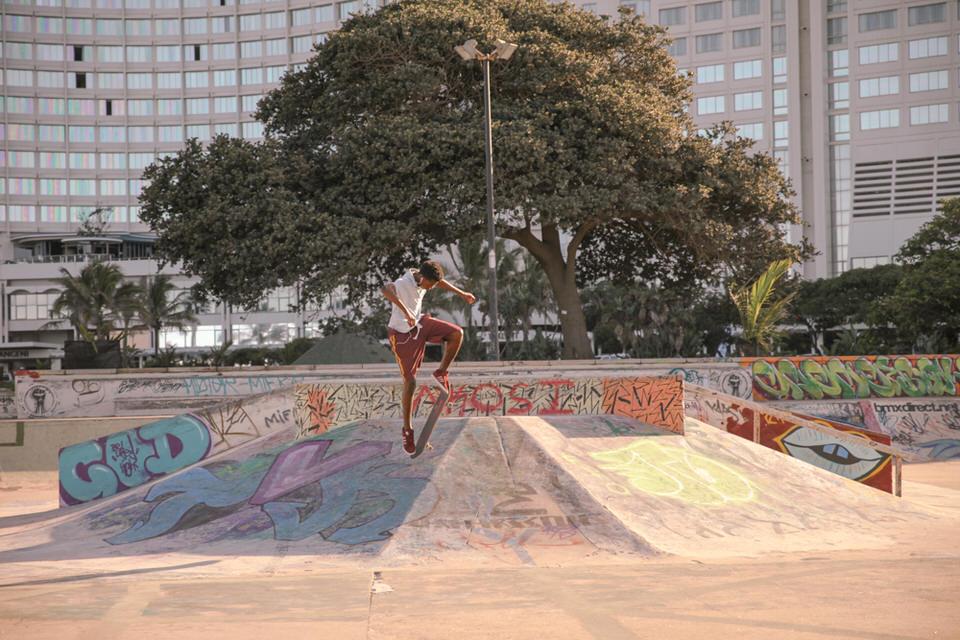 Durban Afrique du Sud - skatedboard dbn2