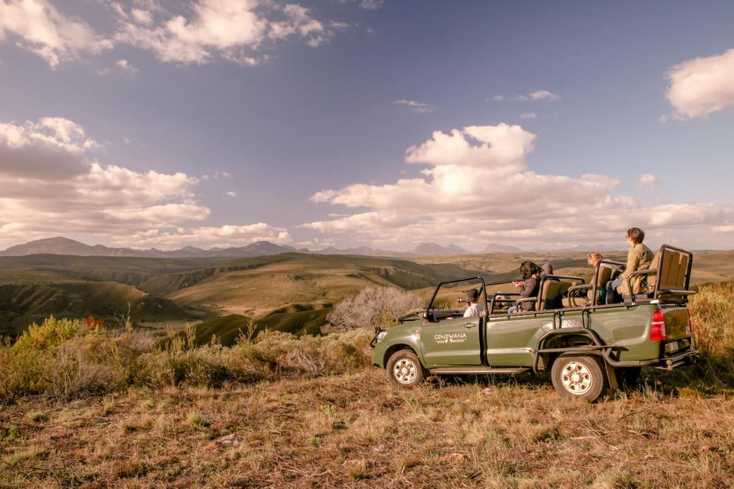 Safari en Afrique du sud - vue sur la réserve