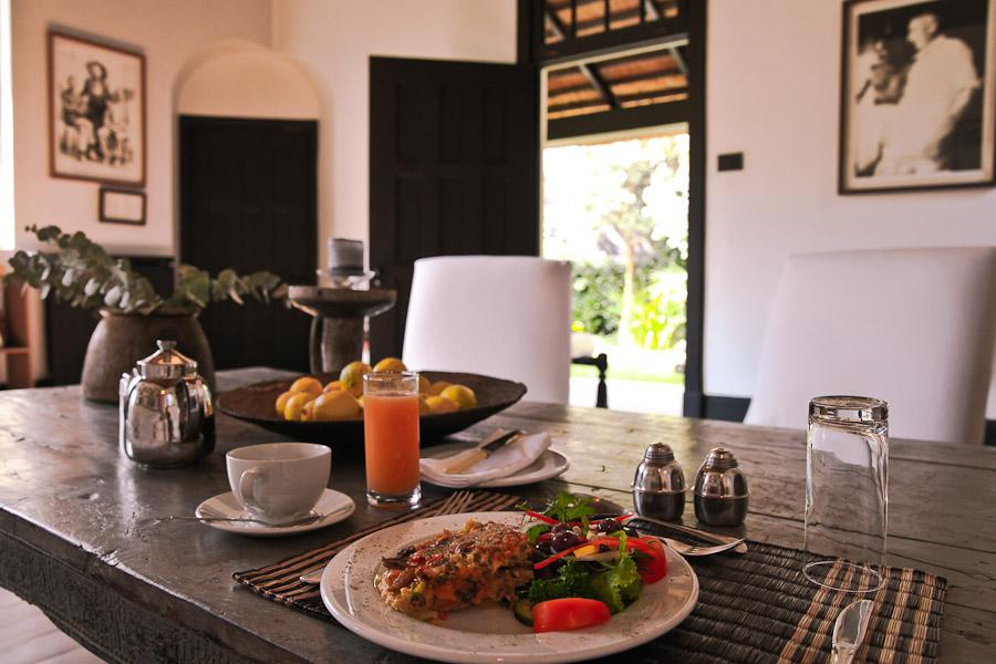 Gandhi Johannesburg - déjeuner végétarien satyagraha