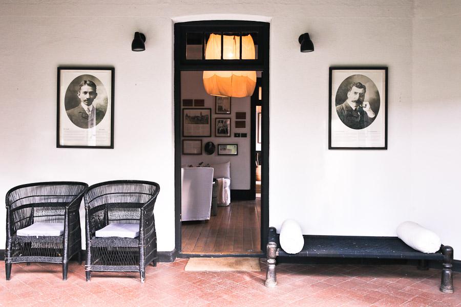 Gandhi Johannesburg - entrée maison