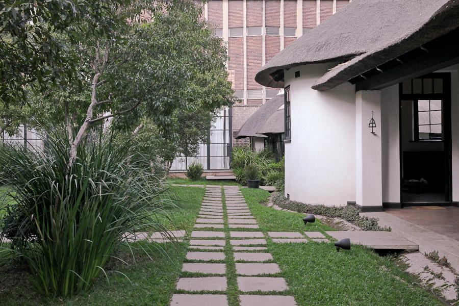 Gandhi Johannesburg - extérieur satyagraha
