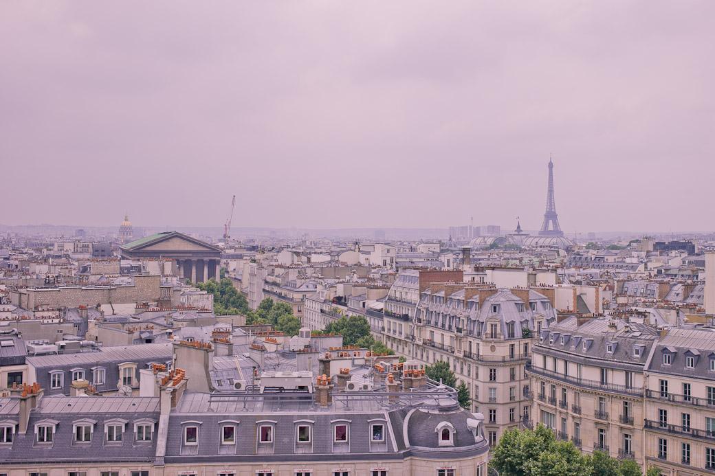 Paris vue du ciel - La tour Eiffel