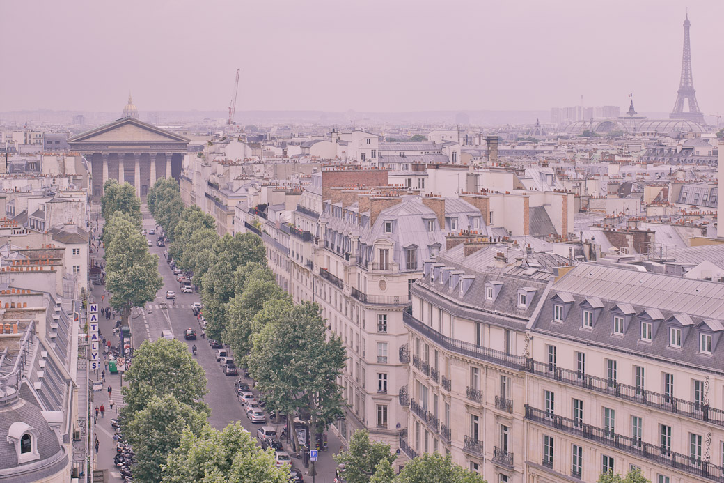 Paris vue du ciel - Rue Tronchet
