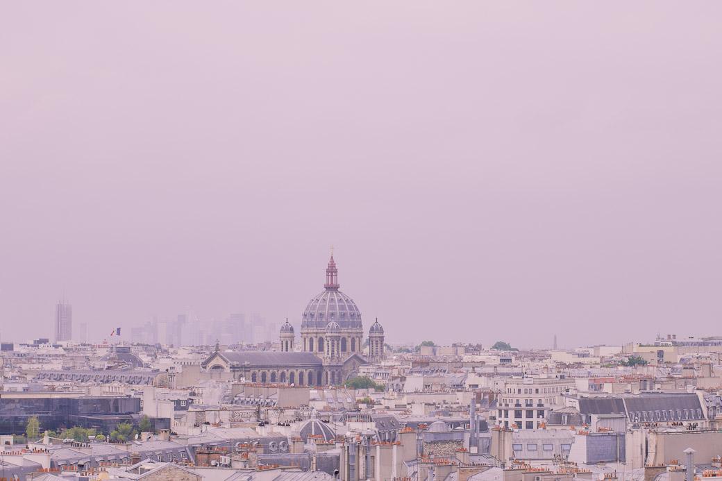 Paris vue du ciel - Saint Augustin