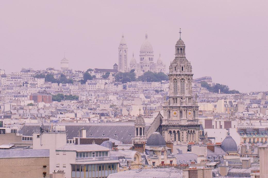 Paris vue du ciel - Trinité et Montmartre