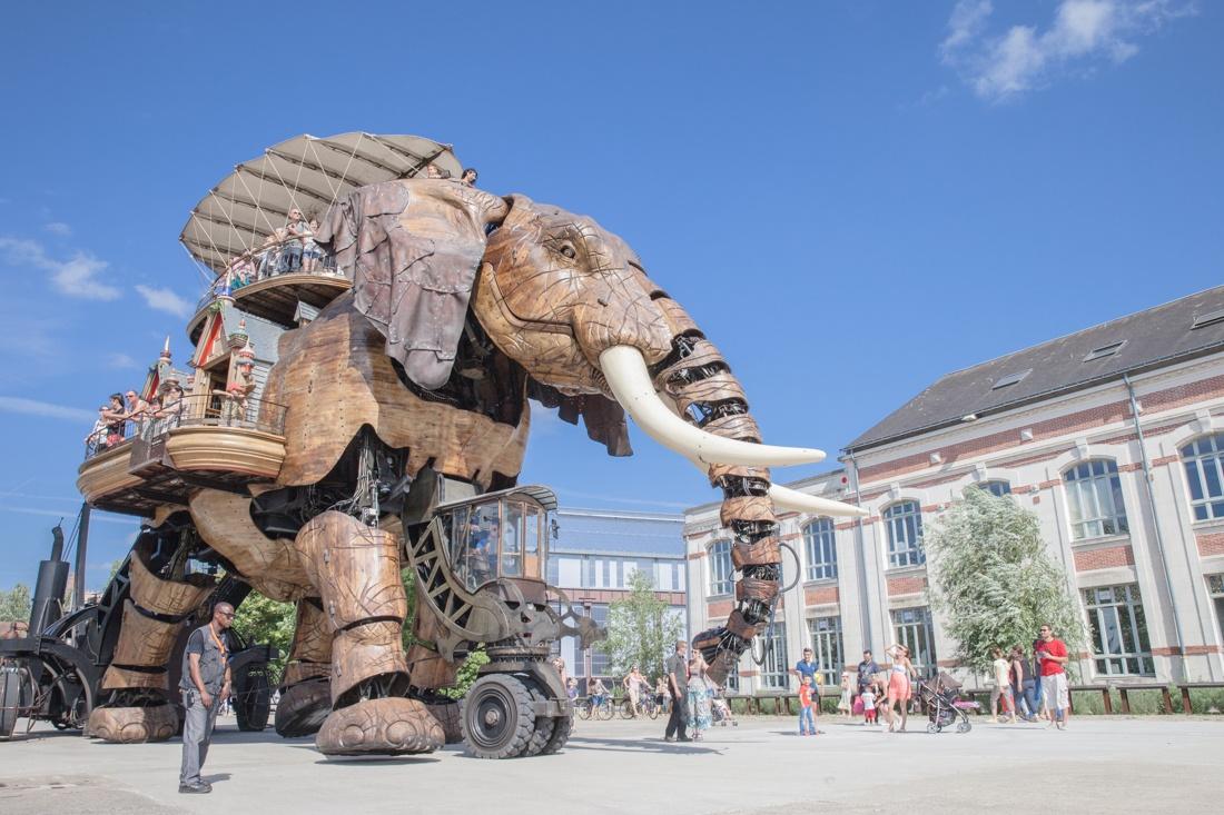 Voyage à Nantes - l'éléphant