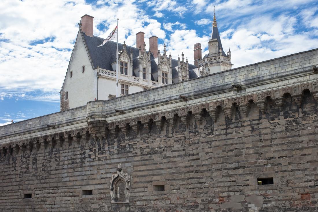 Voyage à Nantes - le chateau de Nantes