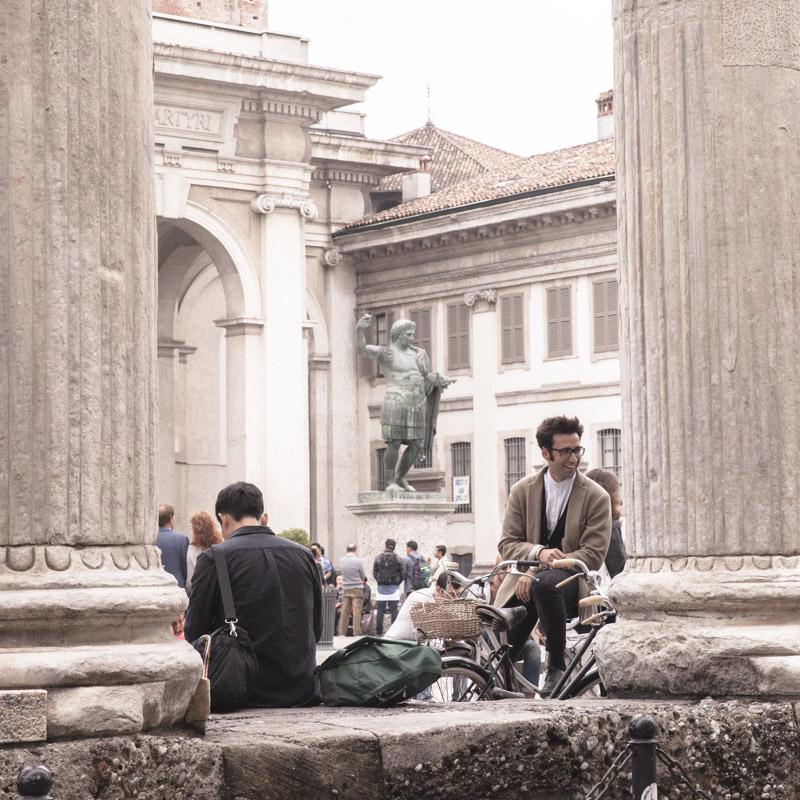 24 heures à Milan - Colonnes san lorenzo