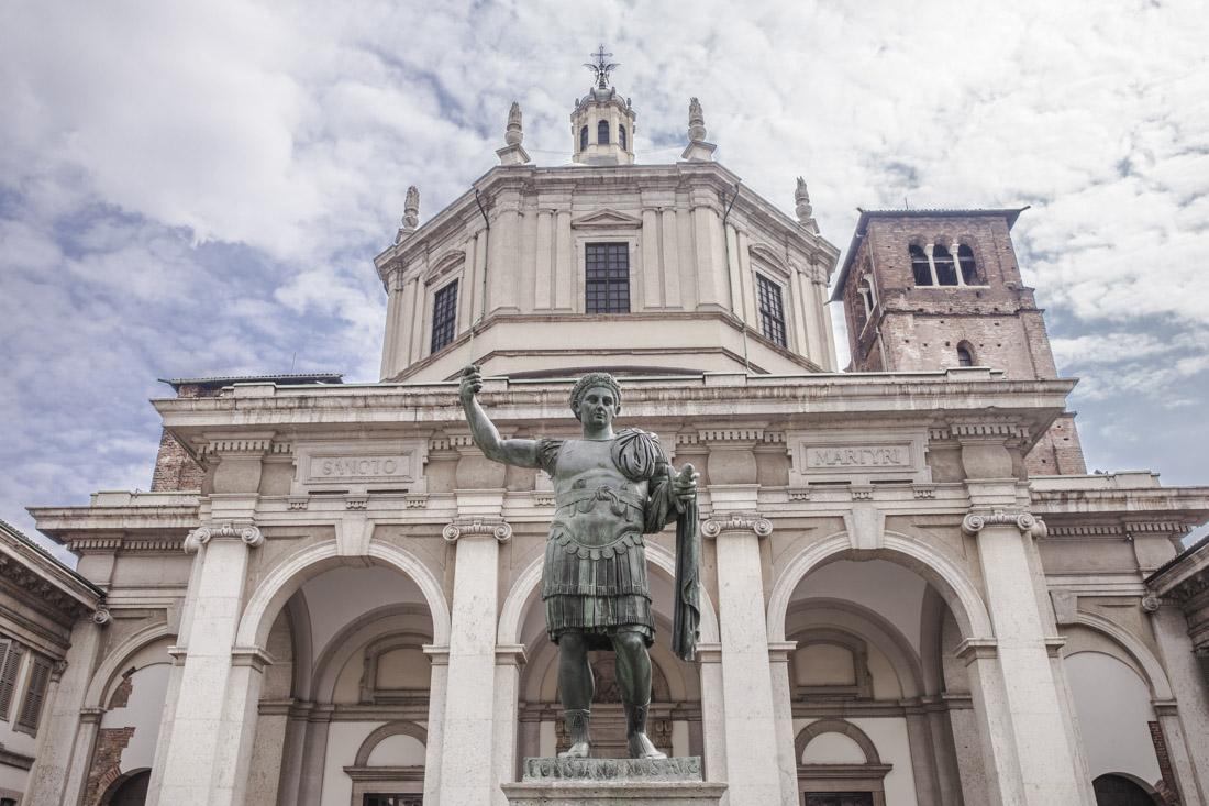 Eglise san lorenzo Milan