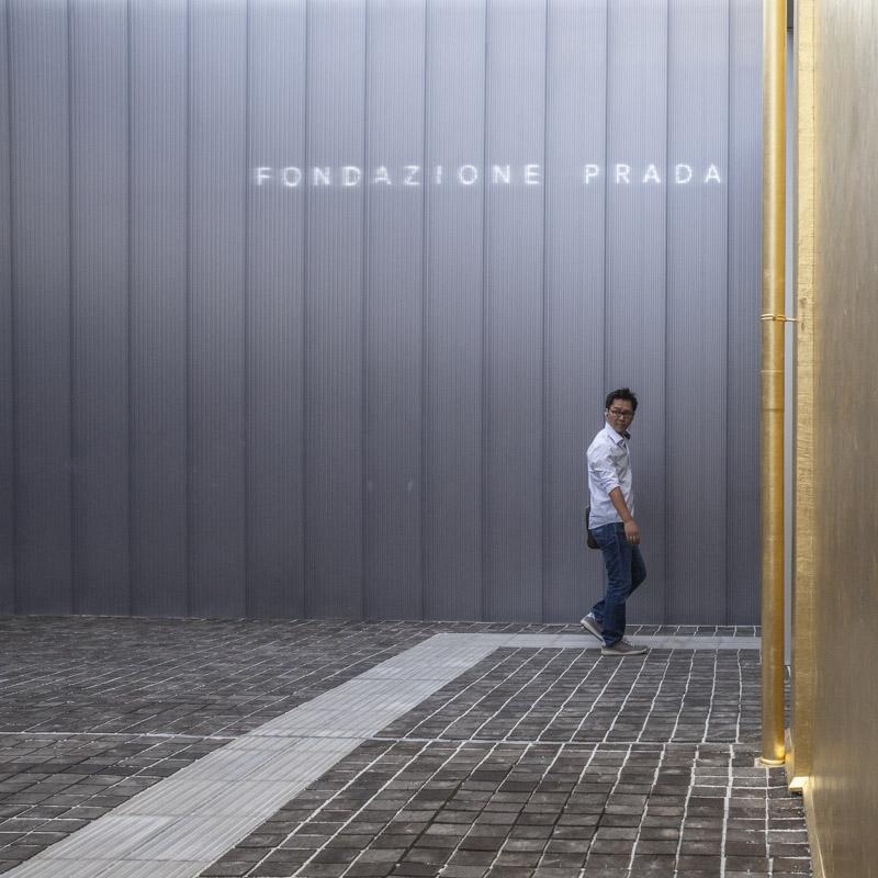 24 heures à Milan - Fondazione Prada with style