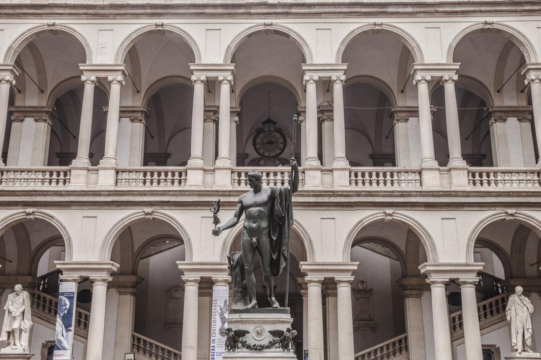 24 heures à Milan - Pinacoteca di brera