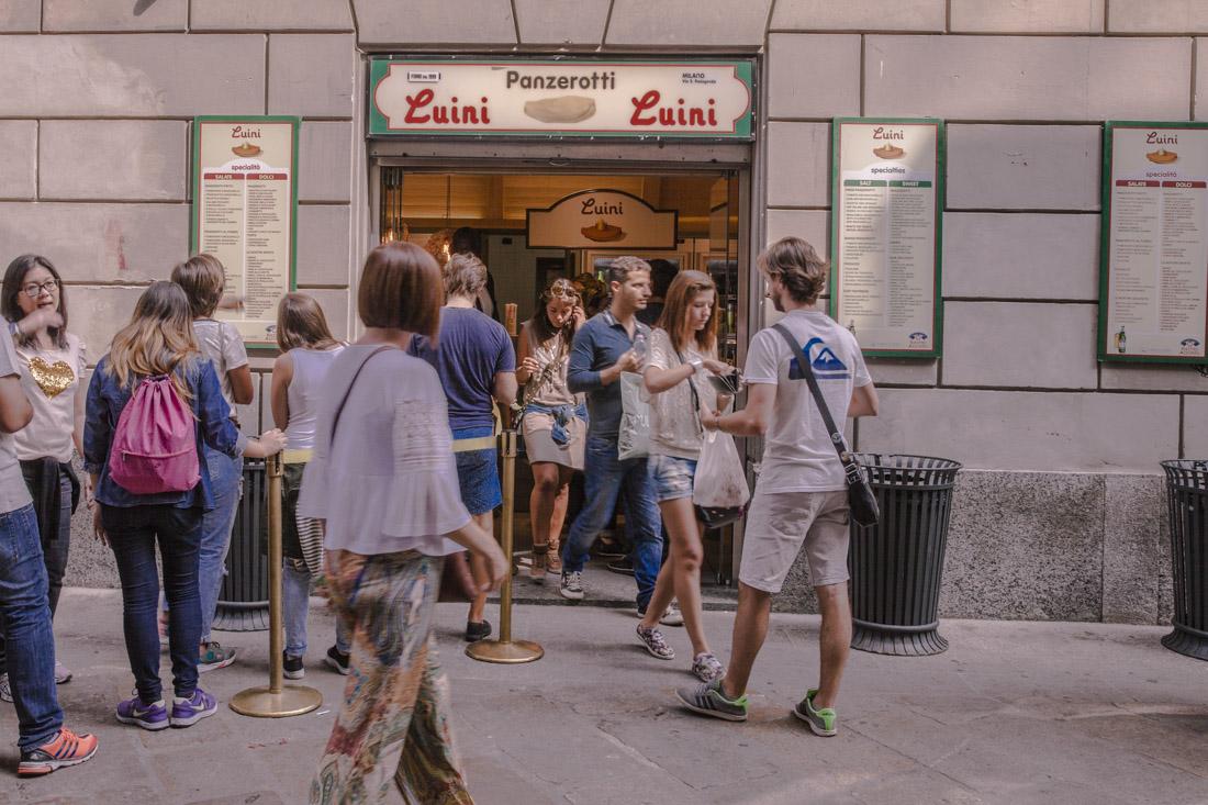 24 heures à Milan - chez luini