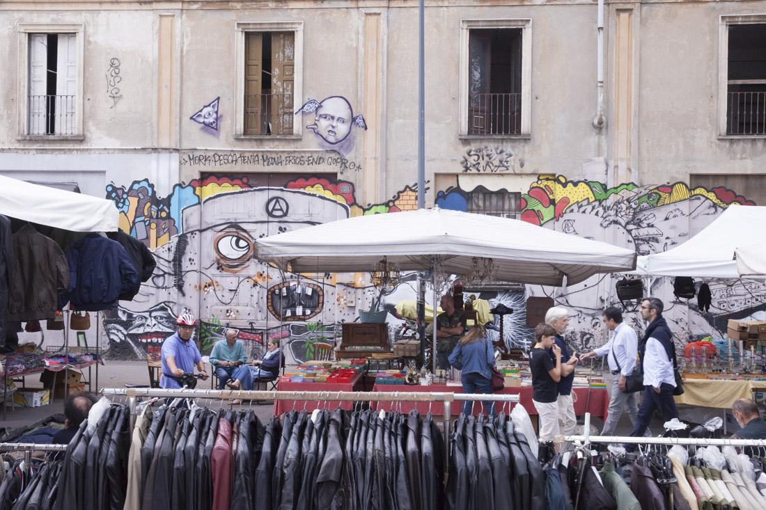 Marché aux puces Milan